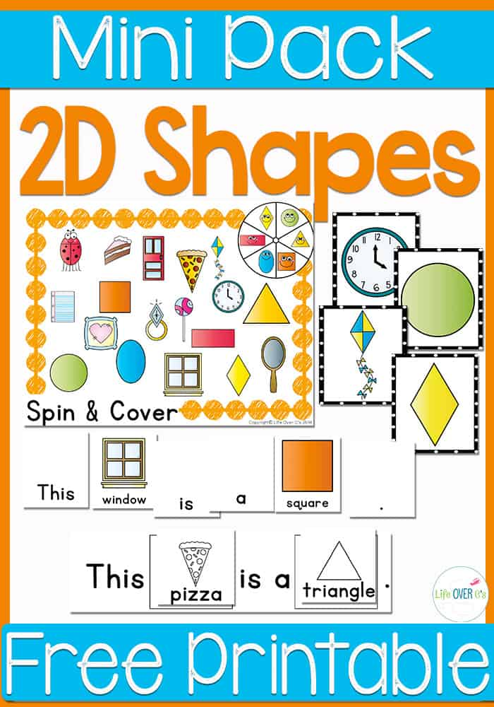 Learn about 2D shapes with these fun games and activities. Four free activities included