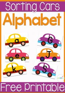 Have fun sorting uppercase and lowercase letters with this fun free printable!