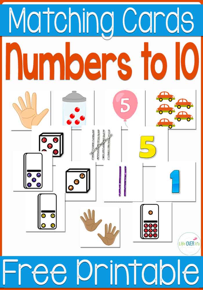 Free Number Recognition Printable