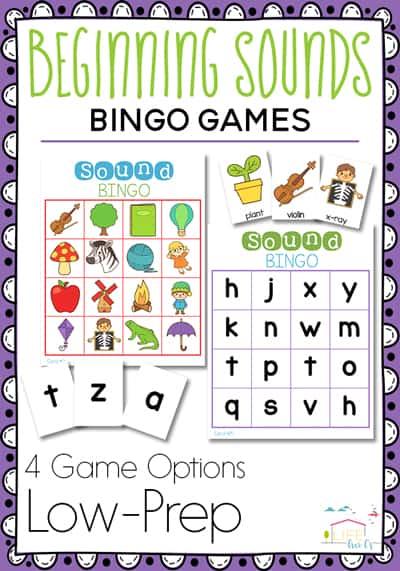 phonics bingo
