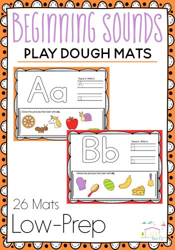 phonics play dough mats