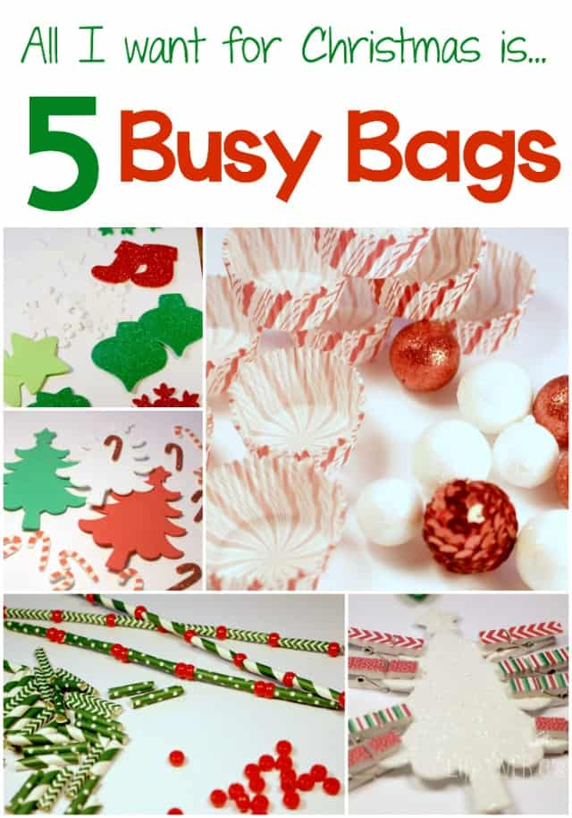 5 Busy Bags for Christmas