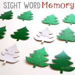 I love this low-prep, customizable sight word memory game! I'm adding this to my December word work activities!