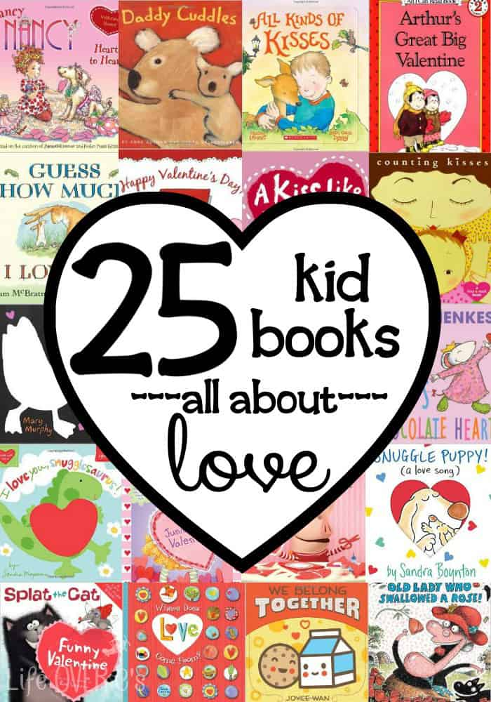These 25 Valentine's Day books are good enough to inspire even the most reluctant reader! (I know because I have one!)