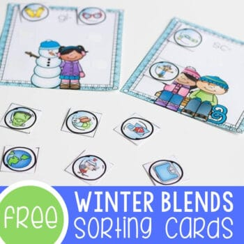 Blends Sorting Mats for Winter Featured Square Image