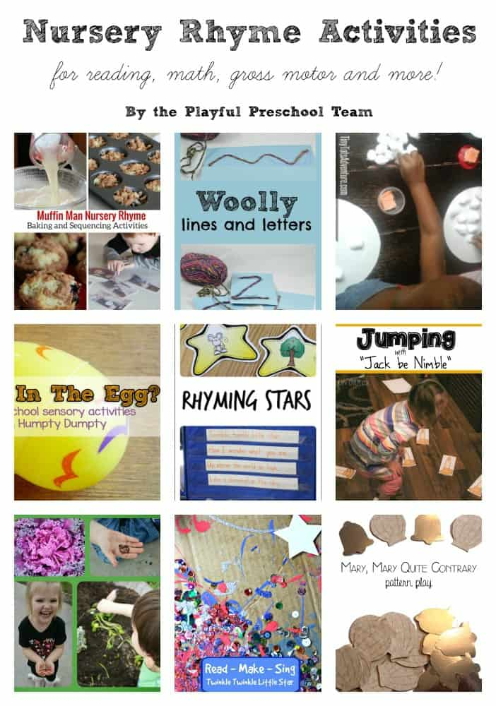 Nursery Rhyme Crafts For Preschoolers