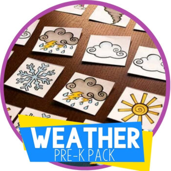 Weather Pre-K Pack Featured Image