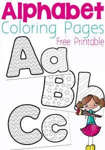 Customize It For Names These Free Alphabet Coloring Pages Are A Fun Way To Practice The