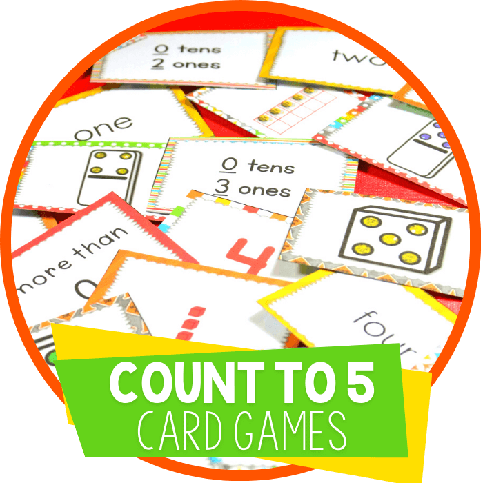 7 Free Card Games for Counting Numbers to 5