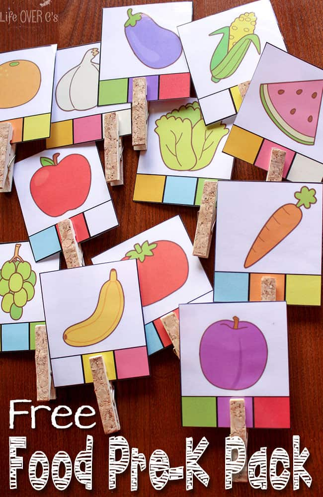 photo regarding Printables Food identified as Meals Game titles and Routines Totally free Printables for Preschoolers