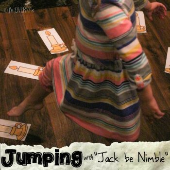 Jumping is so much fun! It's even more fun when you pair it with a fun nursery rhyme & a race!