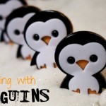 Counting to 5 with penguins can be a simple, quick lesson to fill in gaps in your teaching time!