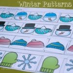 winter patterns square