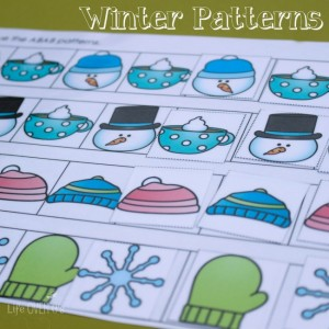 free winter printables for learning life over cs. Black Bedroom Furniture Sets. Home Design Ideas