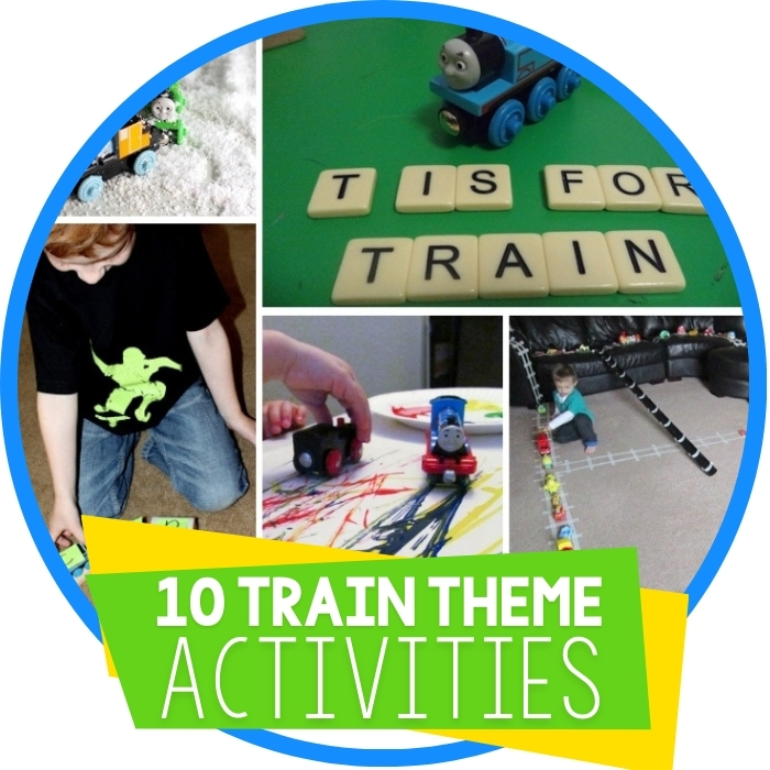 10 Things to do with Trains!