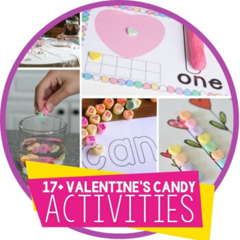 17 Valentine's Day Candy Activities for Learning Featured Image
