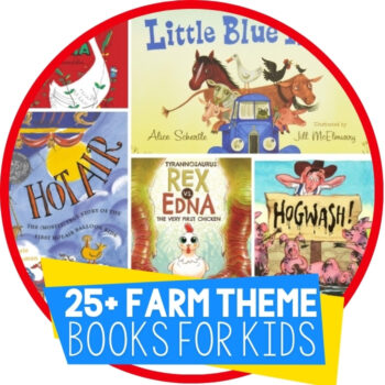 25 Farm Books for Kids Featured Image
