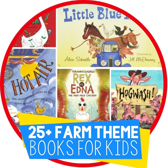 25 Farm Books for Kids