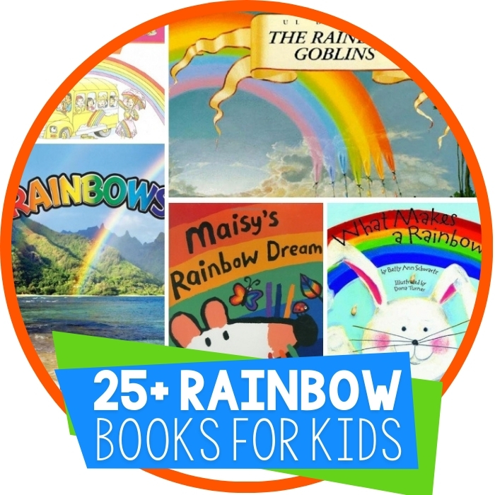 25 Rainbow Books for Kids Featured Image