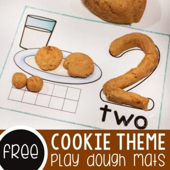Cookie Play Dough Mats Featured Square Image