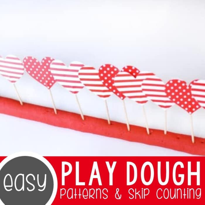 Patterns & Skip Counting with Play Dough Featured Square Image