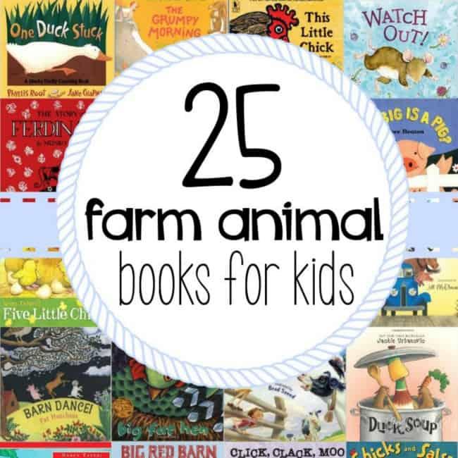 25 Farm Animal Books For Kids