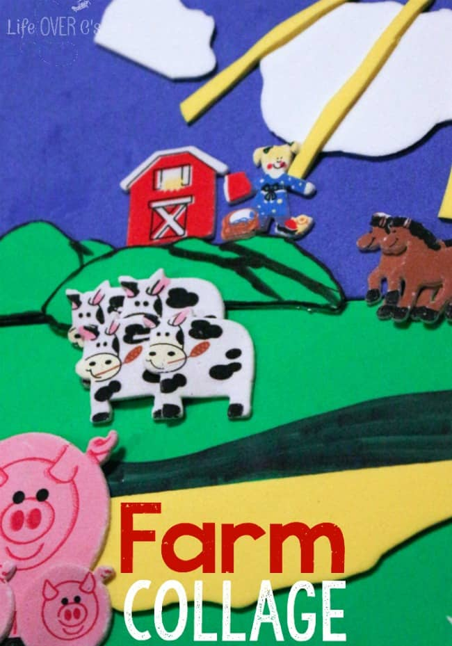 These farm animal crafts are simple to make  and don't require any adult help!