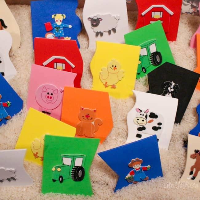 DIY Puzzles for Preschoolers