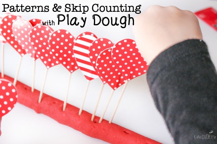 It was so much fun to practice patterns & skip counting with play dough! We'll definitely be doing this activity again!