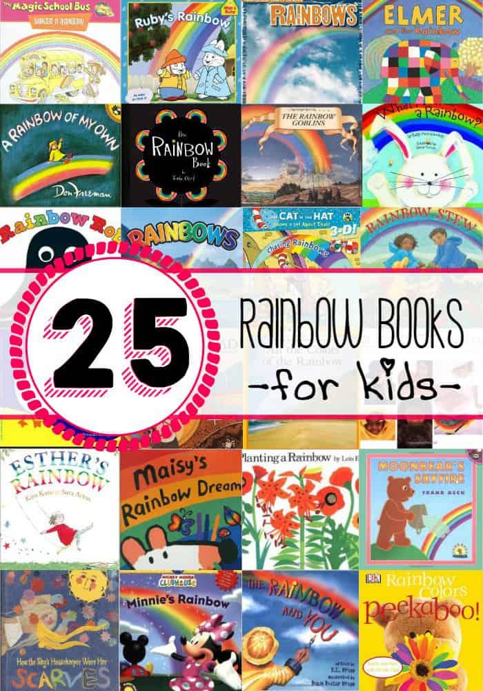 25 Rainbow Books for Kids