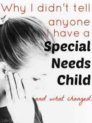 Why I Didn't Tell Anyone My Daughter Has Special Needs