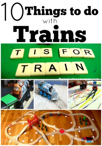 Ten fun things to do with trains besides breaking your ankle.