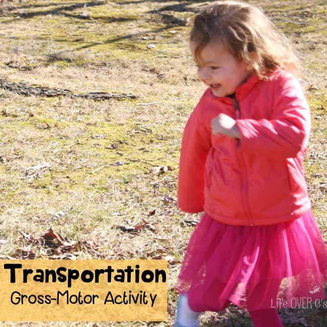Gross Motor Transportation Game For Preschoolers