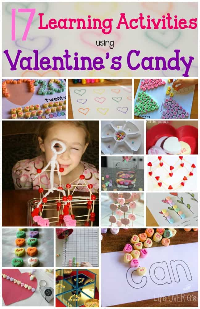 valentine's candy activities