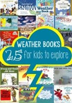 These weather books are perfect for the classroom, story time or at home. Kids can learn all about the different areas of weather with the fun of reading.