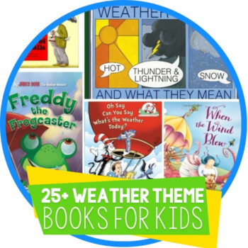 25 Weather Books for Kids Featured Image