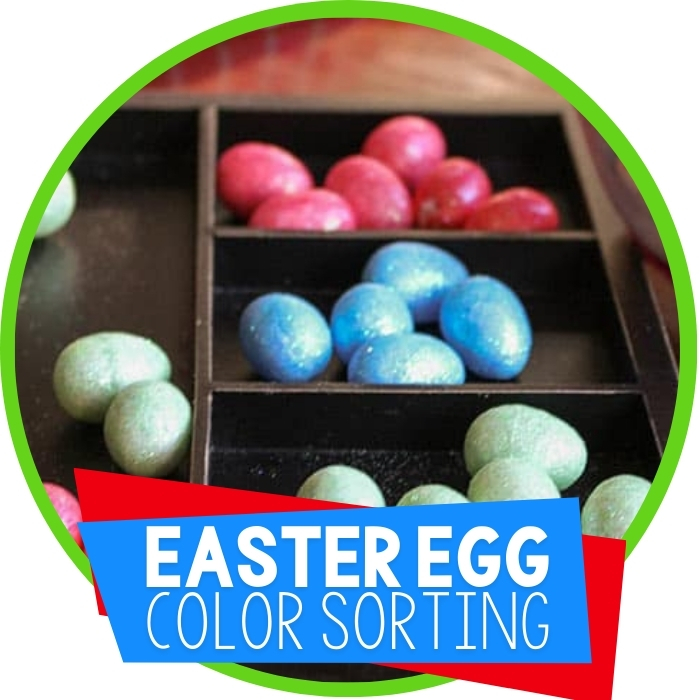 Color Sorting with Easter Eggs
