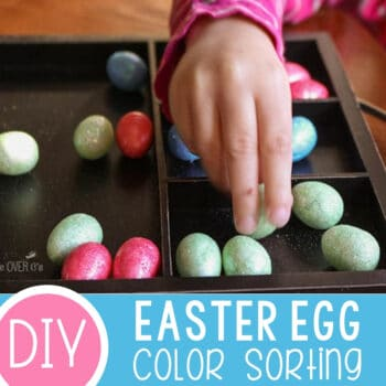 Color Sorting with Easter Eggs Featured Square Image