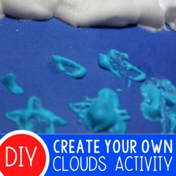 Create Your Own Clouds with Preschoolers Featured Square Image