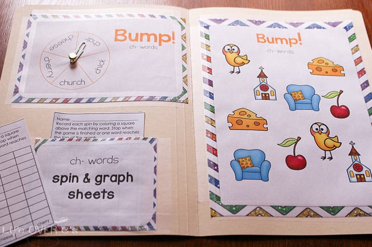 Learn to read the fun way by playing these digraph bump games! 8 unique games!