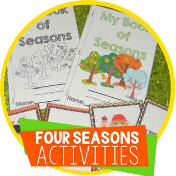 Four Seasons Math & Literacy Pack Featured Image