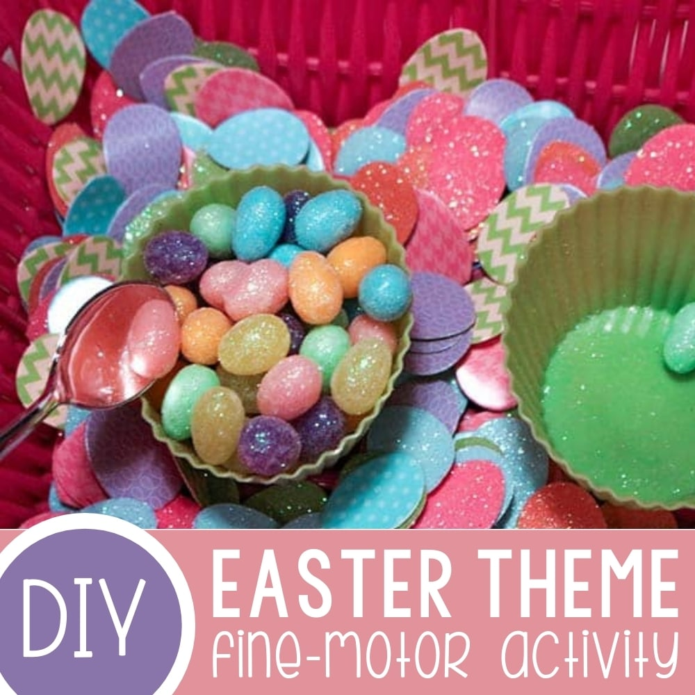 Low-Prep Easter Fine-Motor Activities