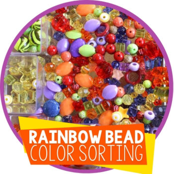 Rainbow Sorting with Beads Featured Image