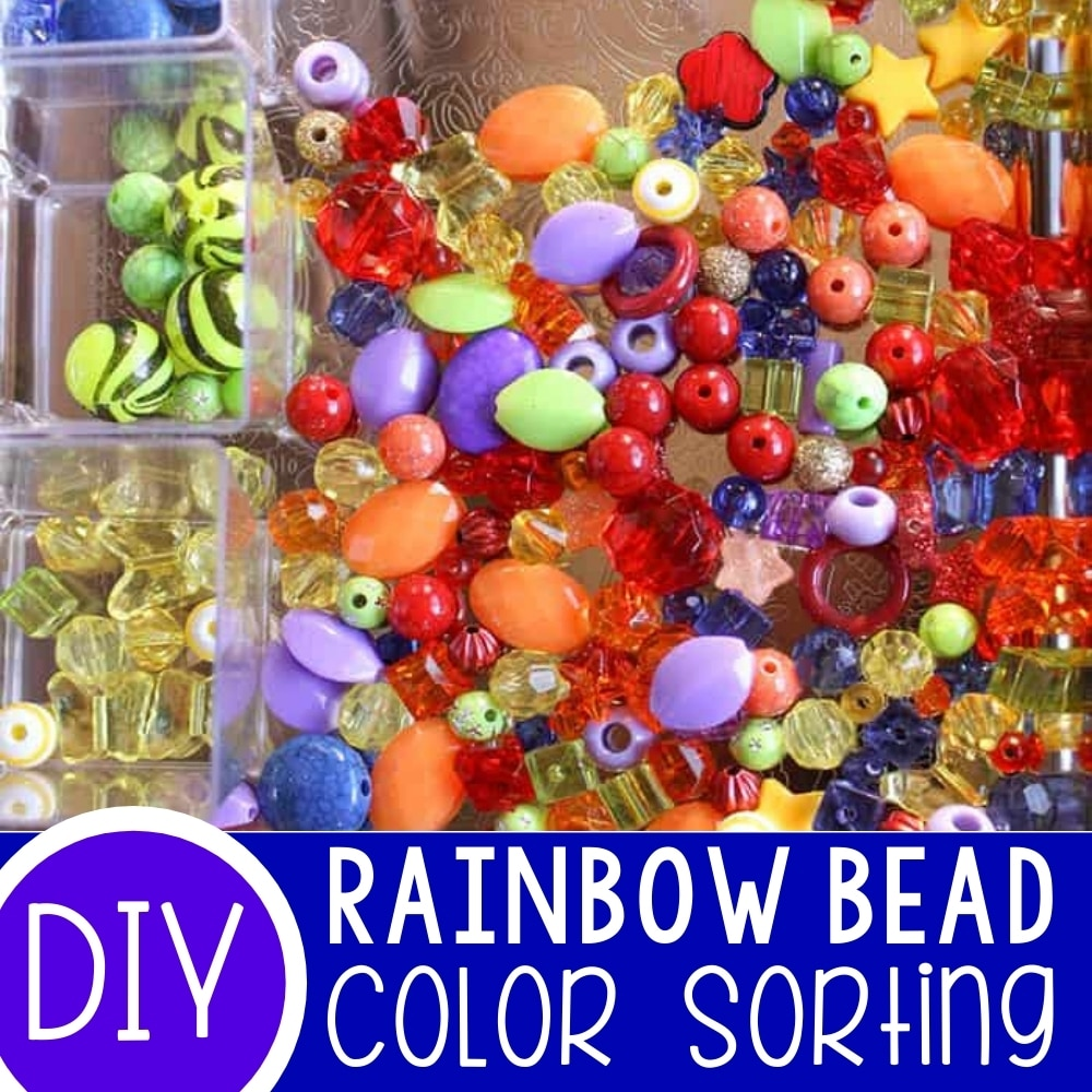 Rainbow Sorting with Beads
