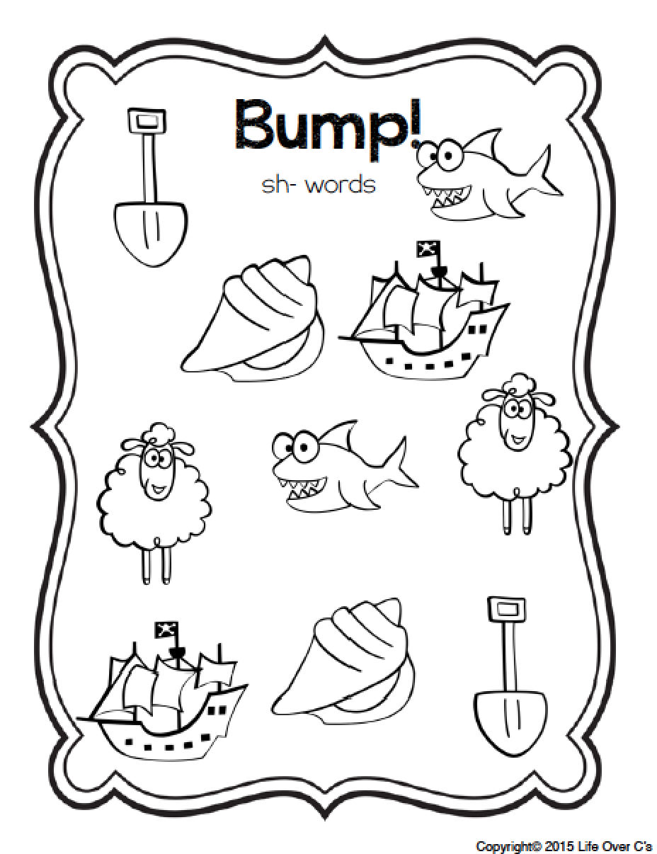 These Digraph Bump! games are so much fun! 8 different games included!