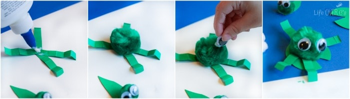 The frog life cycle really comes to life with this adorable fine-motor craft!