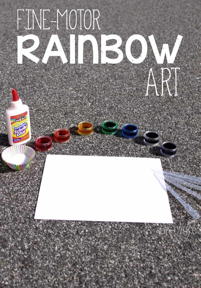 rainbow art supplies