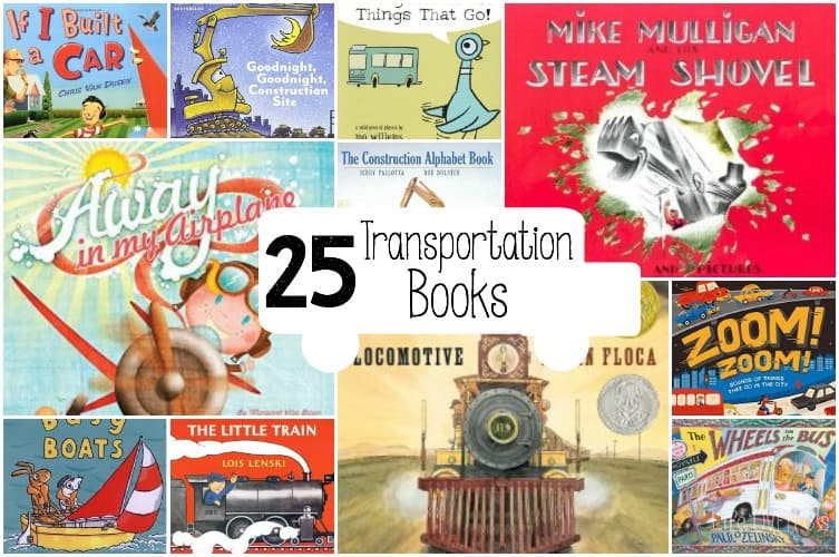 transportation picture books