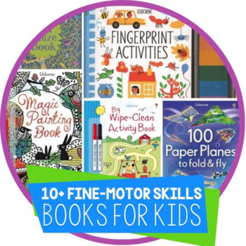 10 Books that Build Fine-Motor Skills Featured Image