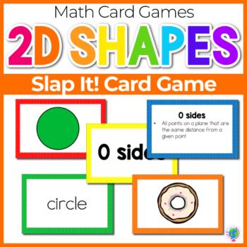 2D Shapes Slap It Card Game